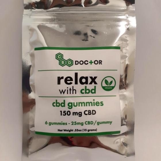 CBD Doctor 6 pack Gummies