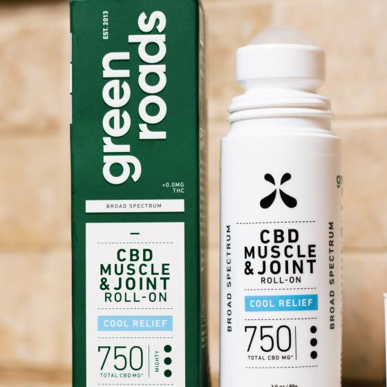 Green Roads Muscle & Joint Heat Relief 750 mg