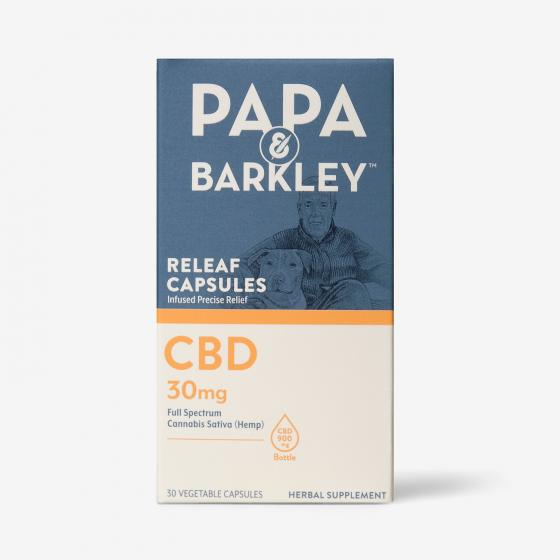 Papa and Barkley Releaf Capsules