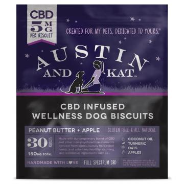 CBD Biscuits 5mg for Large Dogs