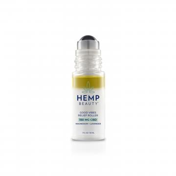 Hemp Beauty Good Vibes Relief Roller