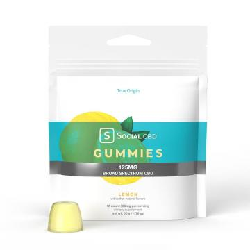 Social CBD Lemon gummies