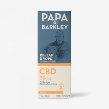 Papa and Barkley Hemp drops